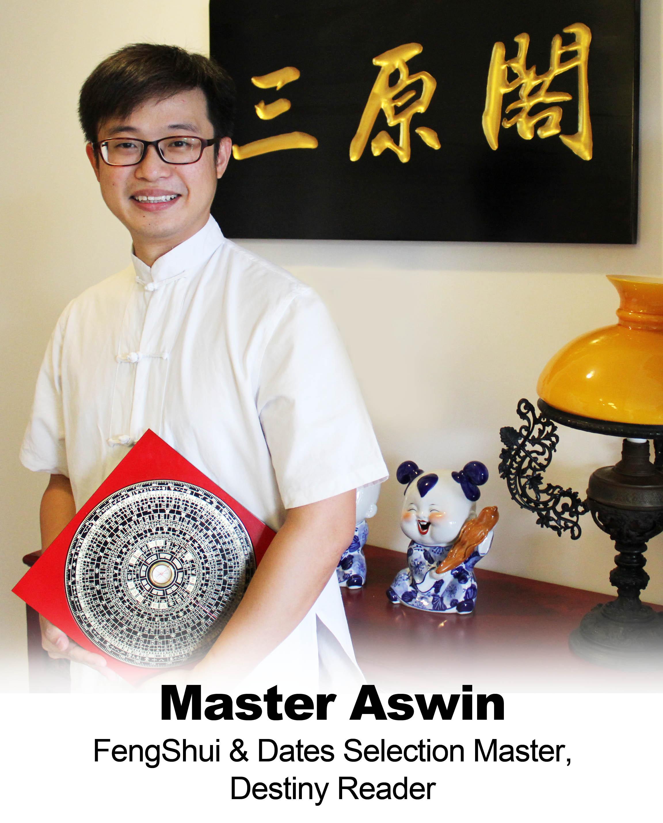 feng shui master aswin